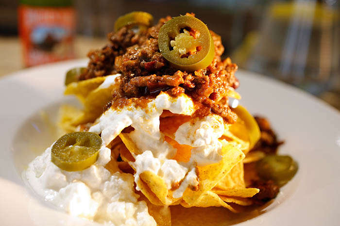 Chilli Nachos at Bedgebury Cafe