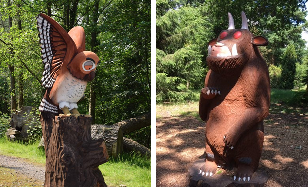 Gruffalo at Bedgebury Forest and National Pinetum