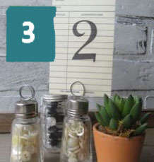 make a note of your table number